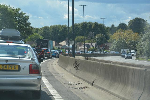 Newport : The M4 Motorway