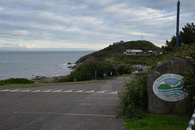 The Mumbles : Bracelet Bay Car Park