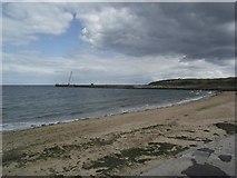 NJ9505 : Beach at Footdee by Tim Glover