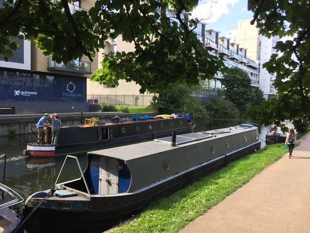 Canal Scene - Regent's Canal