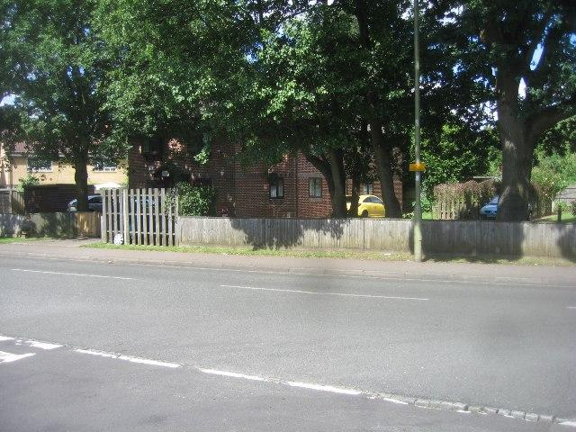 Housing along Cherrywood Road