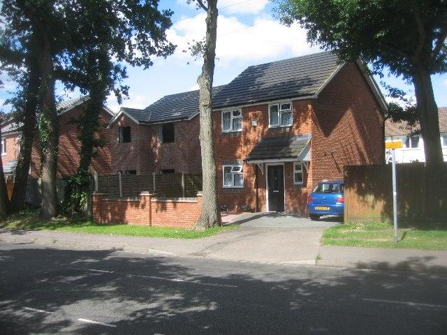 Houses in Cherrywood Road