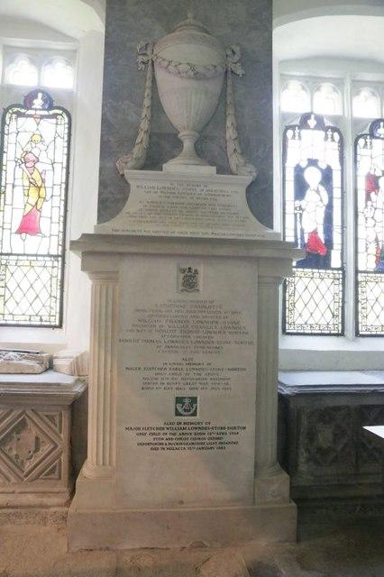 Memorial in the Chapel