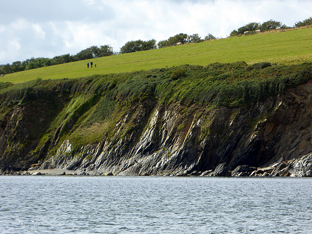 Cliffs near Coombe Haven