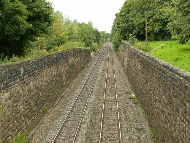 Railway cutting, Borrowash
