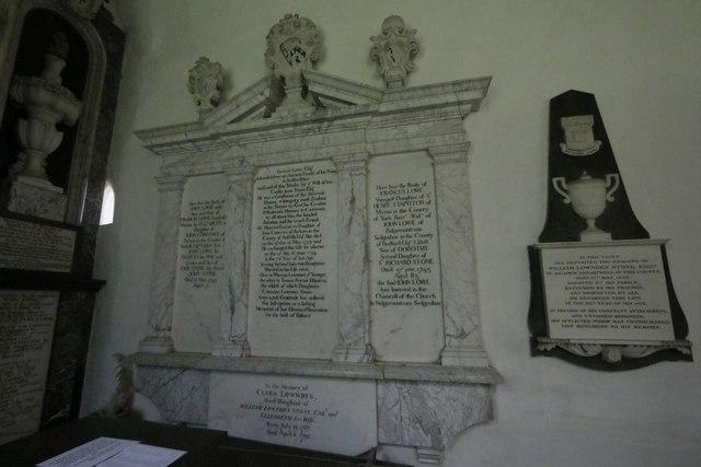 Lowndes Family memorial