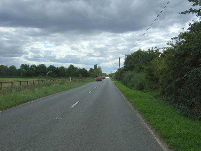 Twenty Pence Road (B1049), Church End
