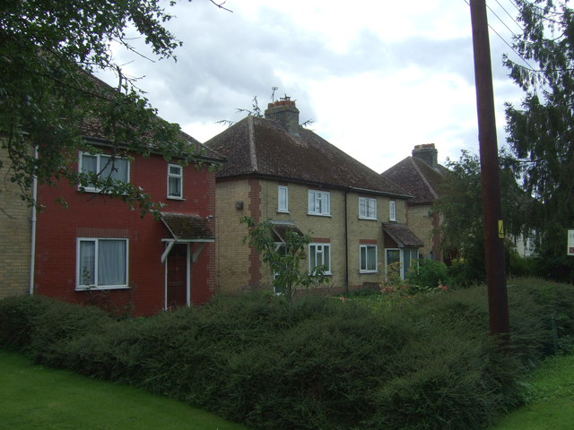 Houses on Twenty Pence Road (B1049)
