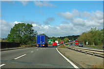 TF0105 : A1 northbound by Robin Webster