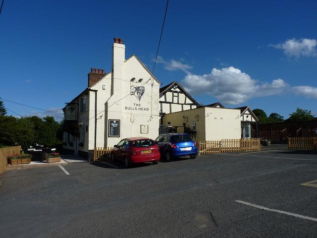 The Bull's Head at Rodington