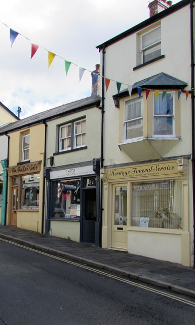 Three Broad Street businesses, Blaenavon