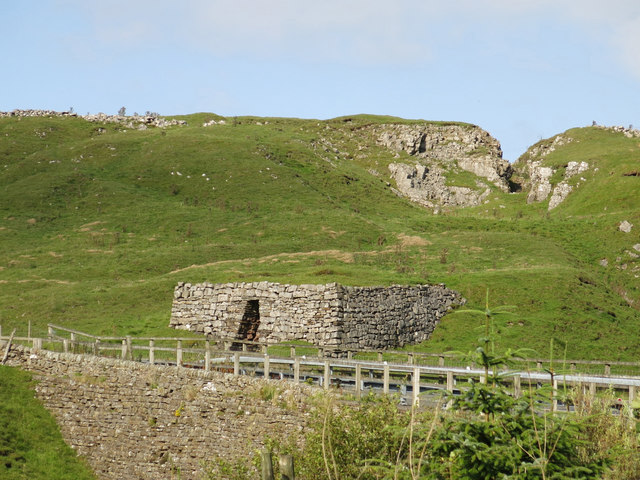 Lime kiln and the Greenfield Vein