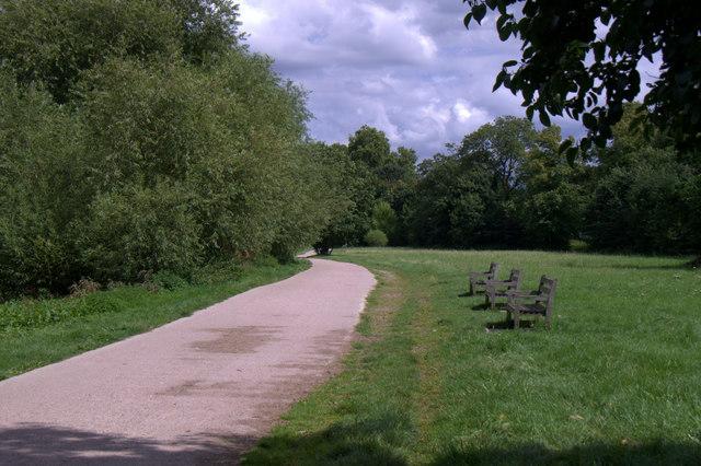 The Thames Path at Ham House