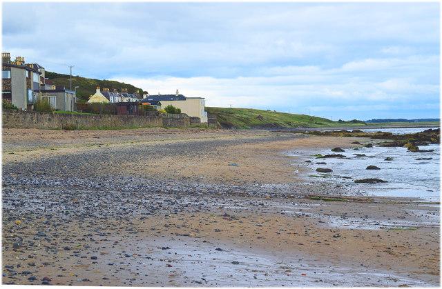 Lower Largo beach, Fife