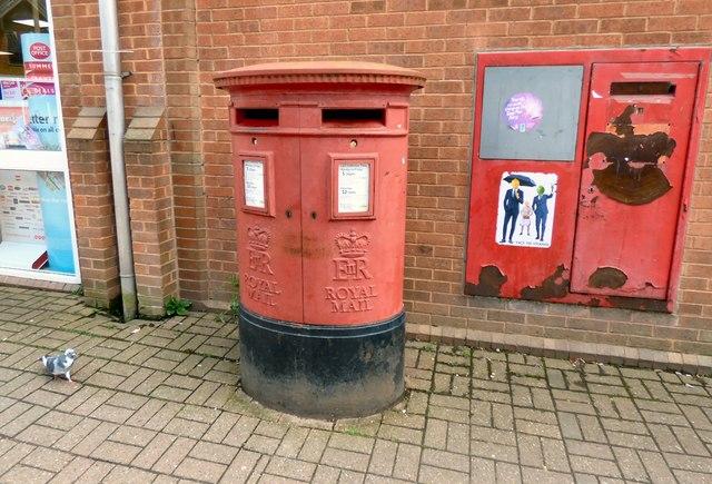 Double postbox (DE6 801 and DE6 1404)