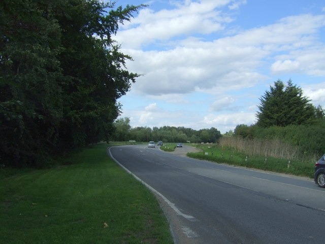A110 towards Ely