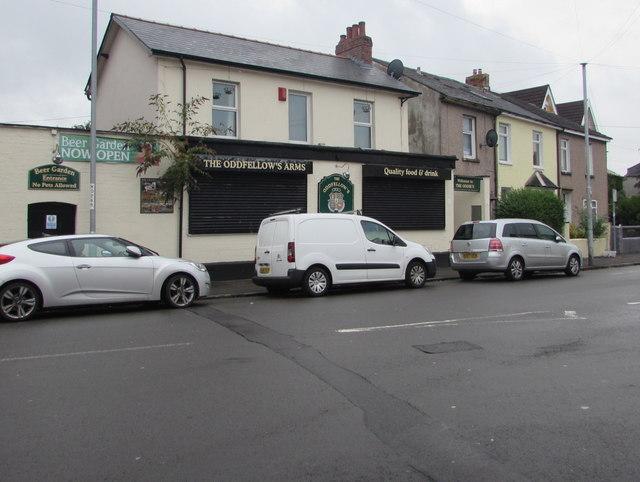 Oddfellows Arms, Duckpool Road, Newport