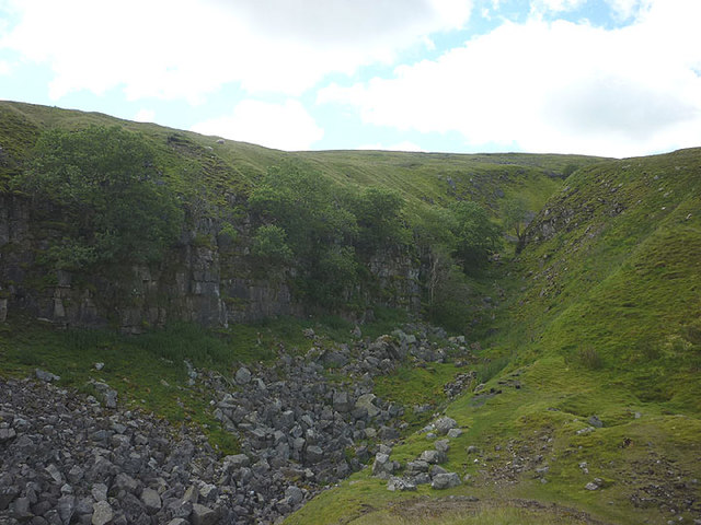 Possible hush above Lover Gill