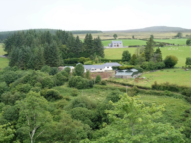 Farms in the glen
