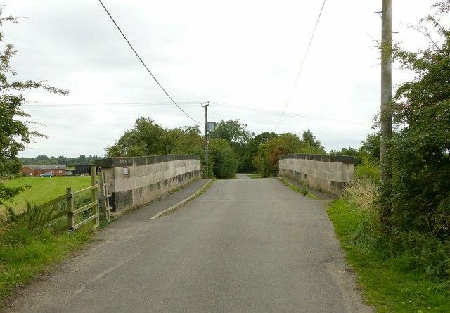 Nooning Lane bridge