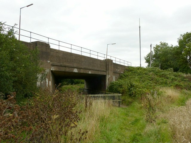 Bridge over the former Derby Canal