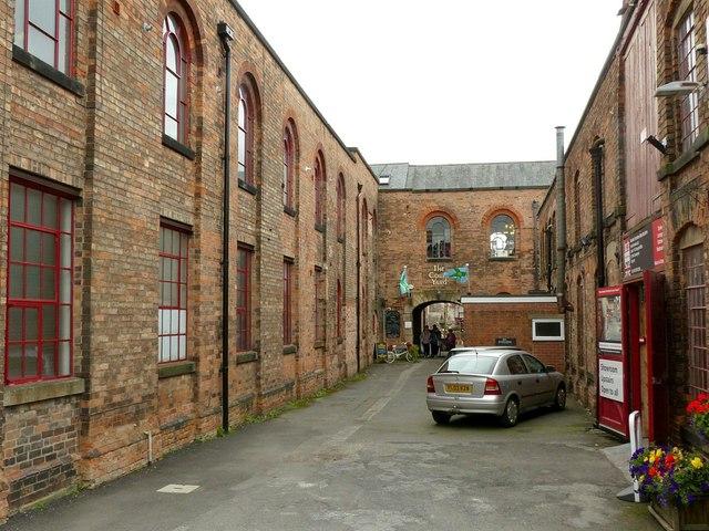 Draycott Mills, courtyard