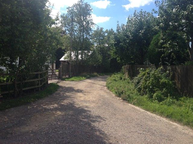 Haslingfield path