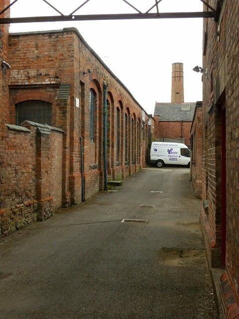 Draycott Mills, leavers shed