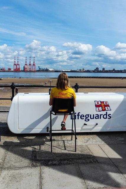Lifeguard, New Brighton Promenade