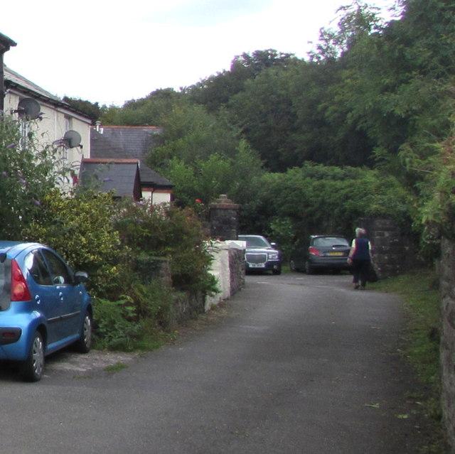 School Lane, Gilwern