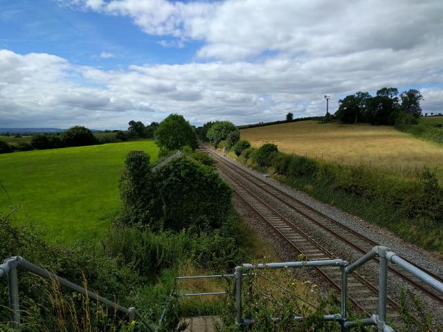 GWR railway line to Taunton
