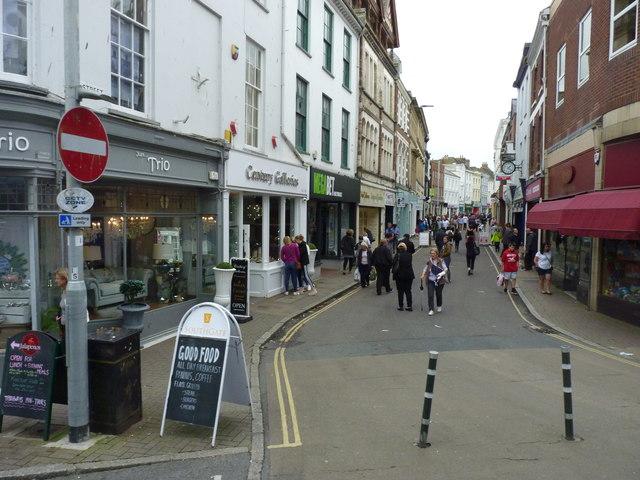 Bottom of High Street, Barnstaple