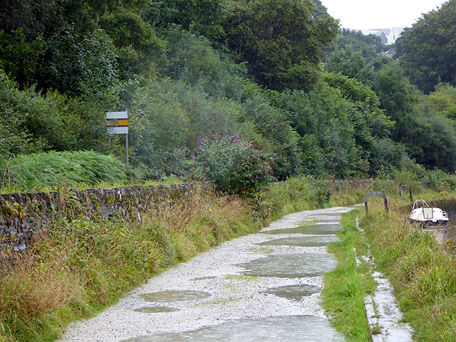 Track near Pill Farm