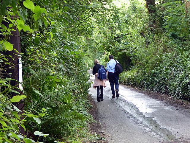 Walking to Fowey