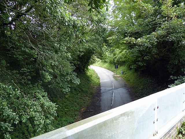The Par to Fowey haul road