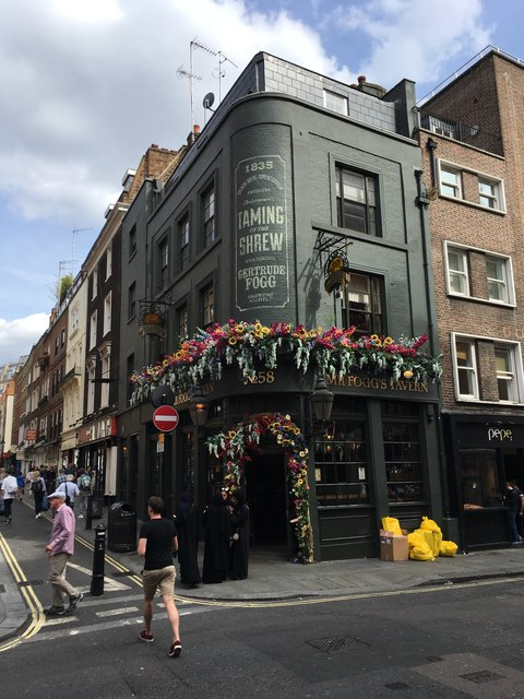 Mr Fogg's Tavern, Covent Garden