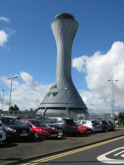 Airport Control Tower, Edinburgh Airport