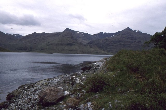 Shore of Loch Hourn