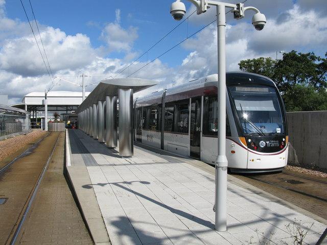 Edinburgh Airport Tram Station