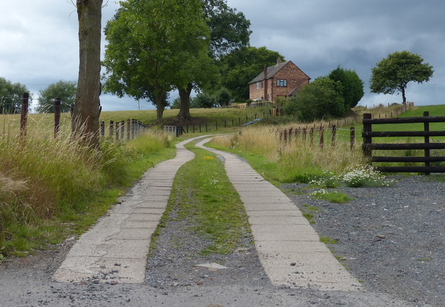 Track to the Moors Farm