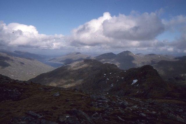 East ridge, Sgùrr a' Choice Bheithe