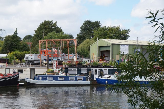 Newmans boatyard, Twickenham