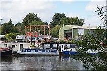 TQ1672 : Newmans boatyard, Twickenham by Mike Pennington