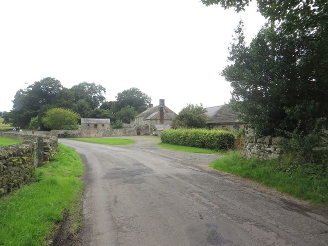 Country road at Dunterley