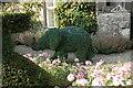 SD4985 : Baby elephant, Levens Hall by Richard Sutcliffe
