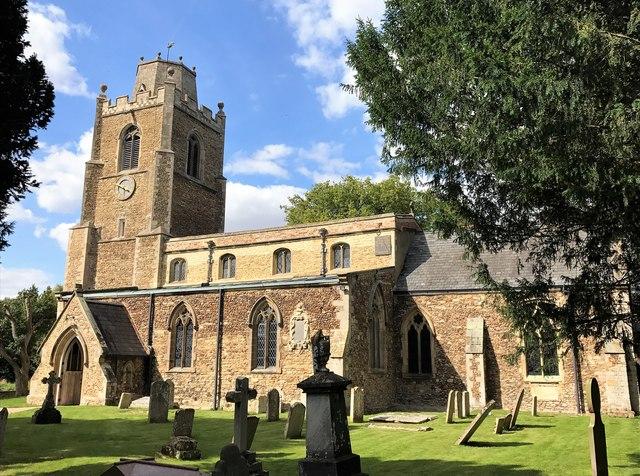 St James church in Hemingford Grey