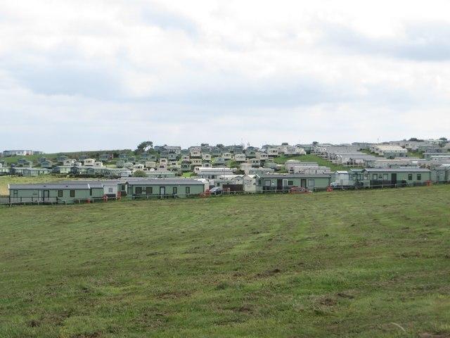 Caravan park at Thornwick
