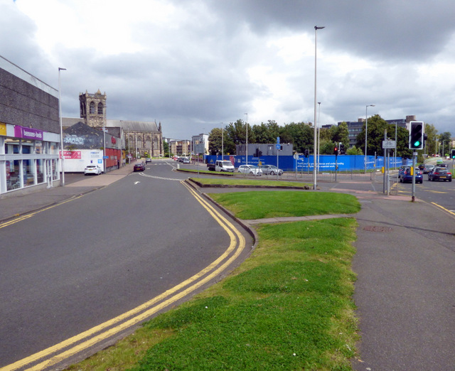 Bridge Street at Gordon Street