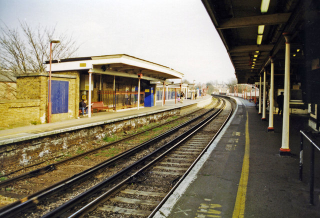Lewisham station 2000, North Kent lines