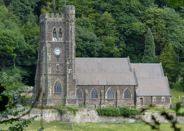 Holy Trinity Church at Coalbrookdale